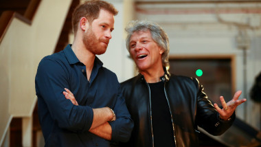 Prințul Harry, Jon Bon Jovi