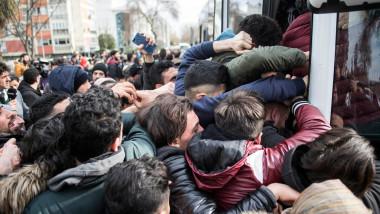 TURKEY ISTANBUL MIGRANTS