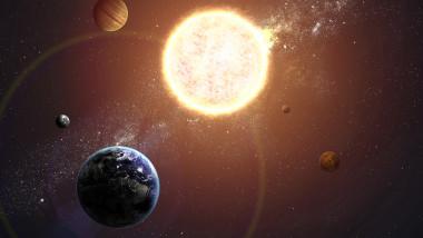 grafica sistemul solar