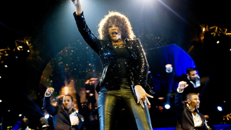 Whitney Houston concert