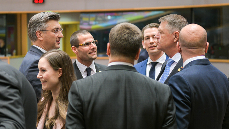 iohannis lideri europeni summit 20 feb - presidency