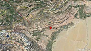 Un cutremur puternic de suprafata s-a produs in China