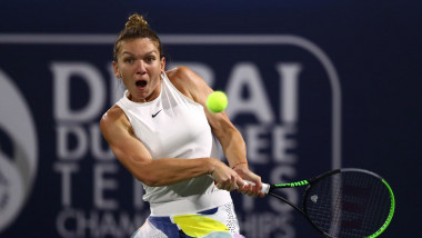 simona halep dubai 2020 getty 2