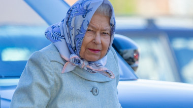 *NO UK PAPERS* Queen Arriving At King's Lynn Station In Norfolk On Tuesday February 11th As She Returns To London By Train After Her Christmas Break On The Sandringham Estate.
