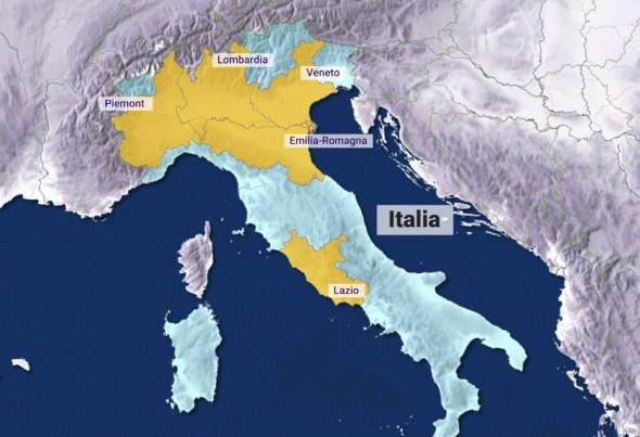 Coronavirus Italia Cea Mai Afectată țară Din Europa Inchide