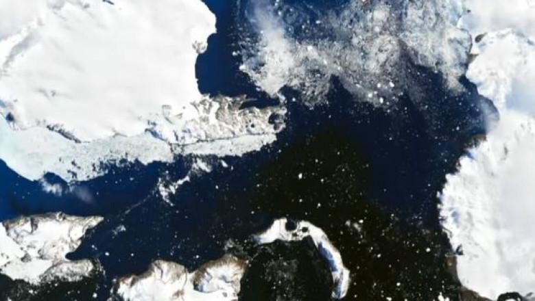 antarctica gheata topita