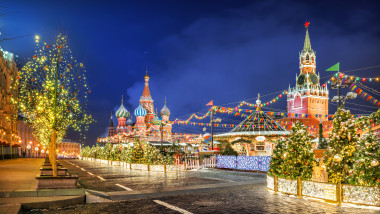 Christmas Red Square