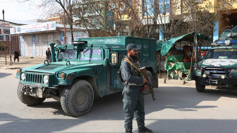 AFGHANISTAN KABUL SHOOTING ATTACK