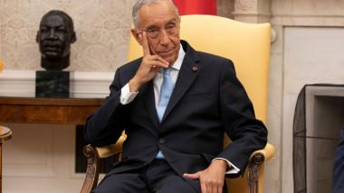 President Trump Hosts President Of Portugal Marcelo Rebelo de Sousa At The White House
