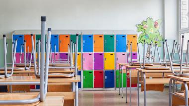sala e clasa, scoli inchise