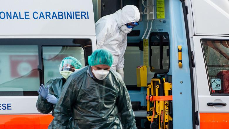 Coronavirus emergency in Lombardy, Castiglione D'Adda, Italy 22 Feb 2020