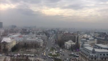 Nivelul maxim admis de poluare cu praf a fost depășit în unele zone din București cu aproape 350%.
