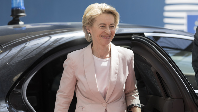 Ursula Von Der Leyen Seeks Commission's Approval For EU Leadership