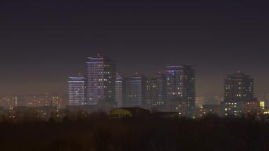 bucuresti poluare noapte getty