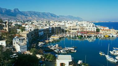 Kyrenia harbour cyprus