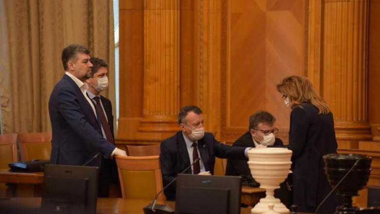 vot guvern orban ciolacu masca