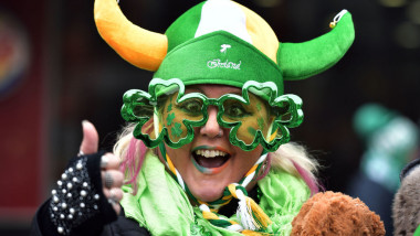 St Patrick's Day Is Celebrated In Dublin