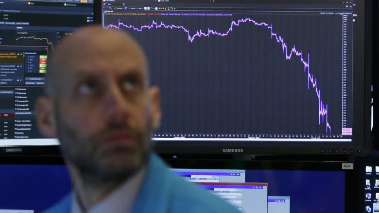 Bursa Wall Street în scădere, din cauza epidemiei de coronavirus