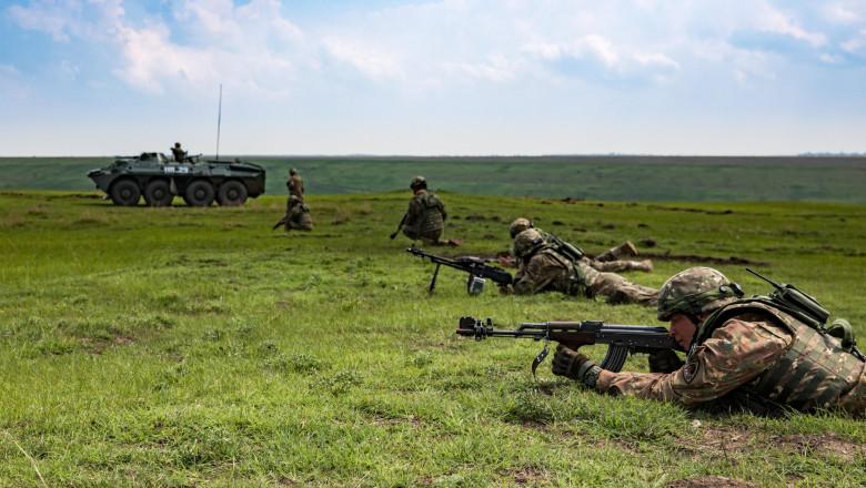armata română, militari români, exerciţiu militar NATO