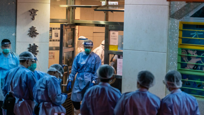 Concern In Hong Kong As The Coronavirus Continue To Spread