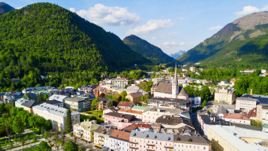 Bad Ischl aerial view