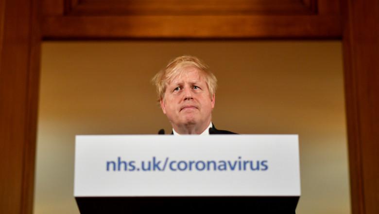 prim-ministrul britanic Boris Johnson, coronavirus Marea Britanie