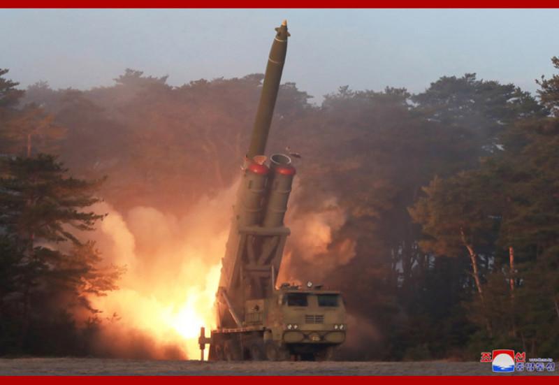 artilerie nord-coreeană, lansatoare de rachete Coreea de Nord