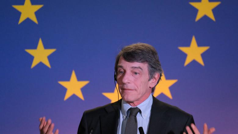 david sassoli presedintele parlamentului european