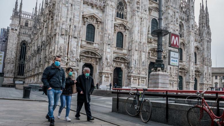 Un sondaj la nivel european arată cât de dezamăgiți sunt italienii de lipsa de solidaritate în pandemie