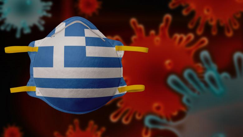 Coronavirus. Corona virus concept. Italy put mask to fight against Corona virus. Concept of fight against virus.
