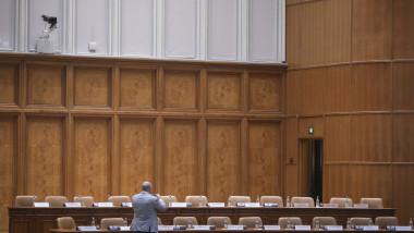 parlament prezidiu gol R_SET_31_INQUAM_Octav_Ganea