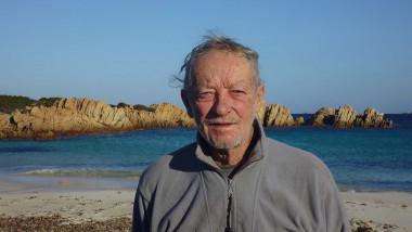 mauro morandi singurul locuitor de pe insula Budelli, Marea Mediteran[
