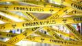 Coronavirus banda de tip Crime Scene