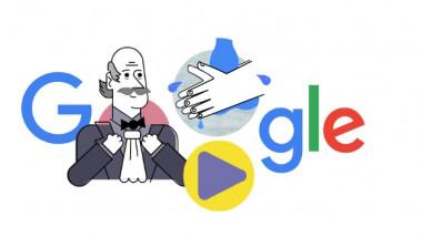 Google doodle dedicat, în plină pandemie de coronavirus, medicului Ignaz Semmelweis