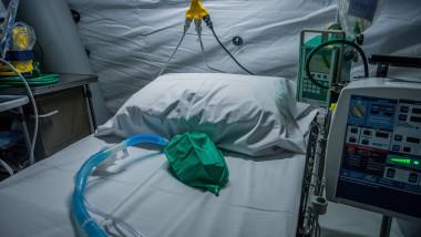 Spital din Bergamo, coronavirus