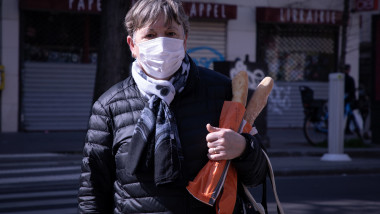 Coronavirus outbreak, Paris, France - 19 Mar 2020