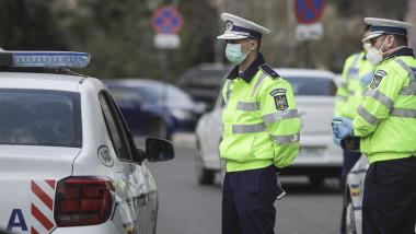 politie masti coronavirus