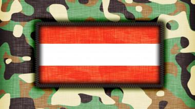 Amy camouflage uniform, Austria