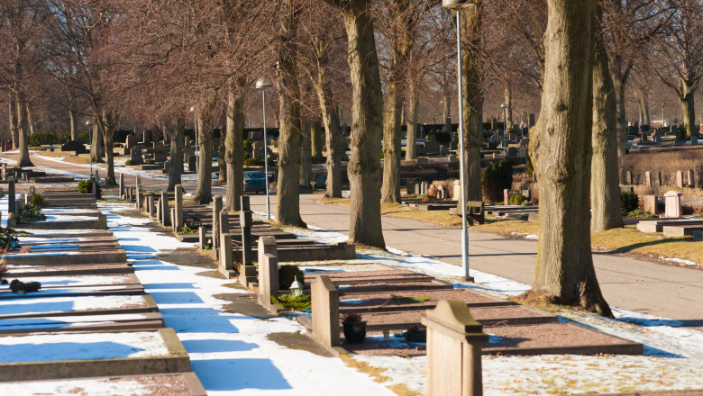 cimitir in suedia