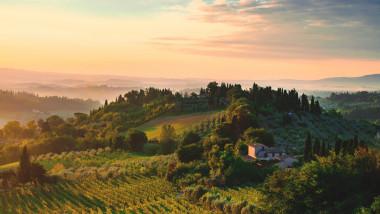 zona rurala din italia
