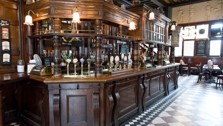 The Coal Hole pub on the Strand, London, England, Britain, UK