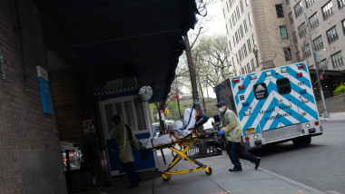Corona virus situation in New York, US - 03 Apr 2020