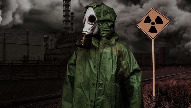 cernobâl cernobîl masca radioactiv radiatii