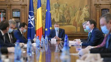 iohannis sedinta ministri masca presidency
