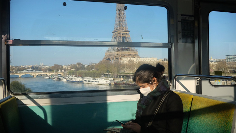 Coronavirus outbreak, Paris, France - 31 Mar 2020