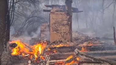 incendiu cernobil
