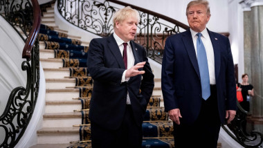 Donald Trump si Boris Johnson