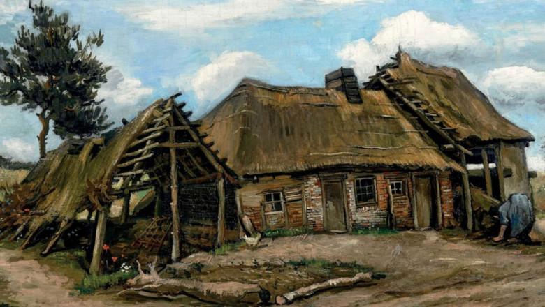 Vincent van Gogh, Țărancă în fața fermei