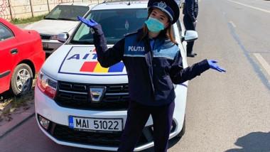 facebook larisa iordache în uniformă de poliție
