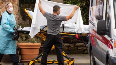In SUA s-au inregistrat un numar record de decese din cauza COVID-19
